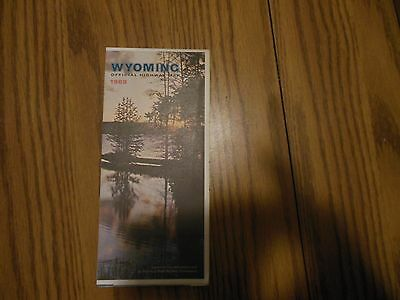 1969 Wyoming Official Highway Map