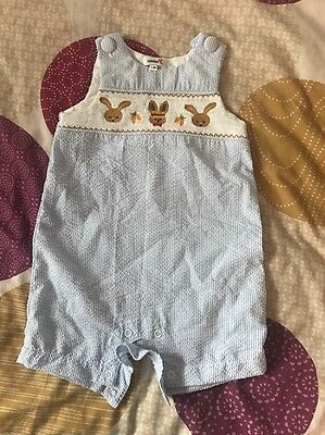 Baby Boy Spanish Romper