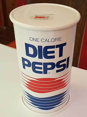 9 inch Tall Diet Pepsi Coin Bank