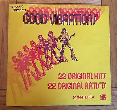 Good Vibrations- 22 Various Hits- Vinyl Record Album