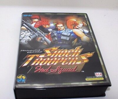 Shock Troopers 2nd Squad NEO GEO MVS / AES SNK USA / Japan