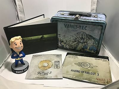 Fallout 3 Collector's Edition - Art Of Fallout 3, 2 CD's, Bobble Head, Lunch Box