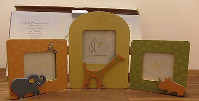 Carter Tri-Fold Picture Frame John Lennon Real Love Imagine