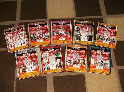 150 Years of Awesome Canada Trading Card Booklets: ALL 9 BOOKLETS LOT CANADIANA