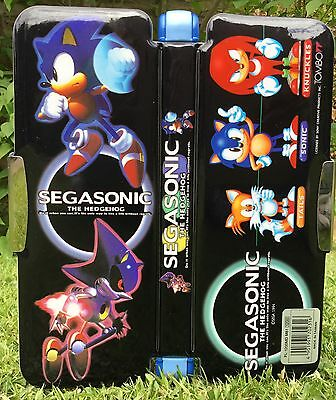 Japanese SEGA Sonic The Hedgehog Pencil Case Featuring Metal Sonic Game
