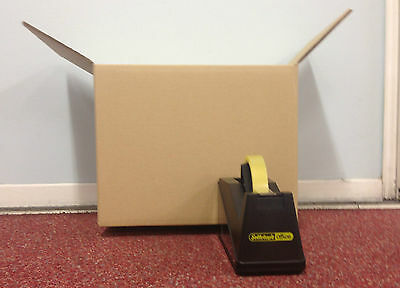 """50 - 10 x 10 x 10""""  STRONG DOUBLE WALL CARDBOARD BOXES FREE 24h"""