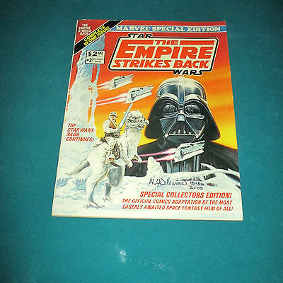 Star Wars Marvel Special Edition The Empire Strikes Back SIGNED by Al Williamson