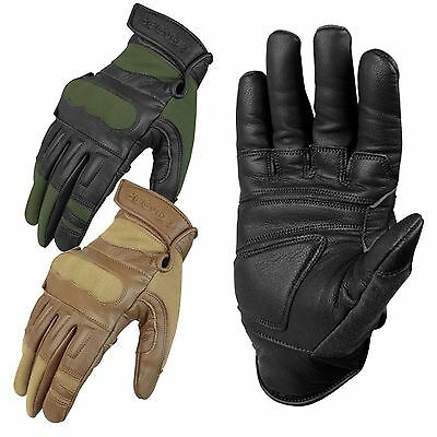 Condor 220 Kevlar Tactical Hunting Military Padded Leather Shooters Gloves S-XXL