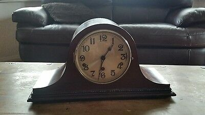 WESTMINSTER/WHITTINGTON CHIME MANTEL CLOCK  working/SPARES OR REPAIR -COMPLETE