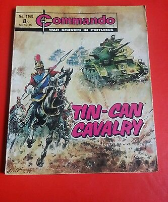 Commando comic 8p - issue 1160.
