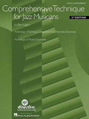 Comprehensive Technique for Jazz Musicians 2nd Edition For All Instrum 000030455