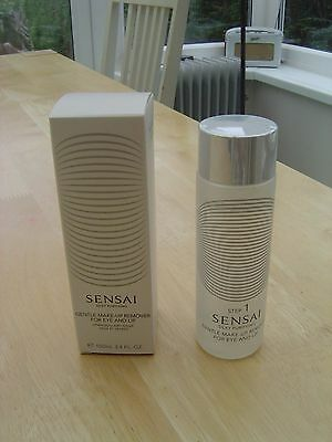 Genuine Sensai Gentle Make-Up Remover For Eyes and Lips NEW Unused 100ml