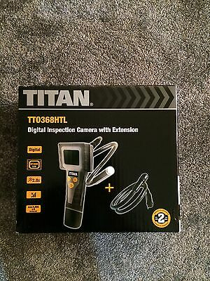 Titan TT0368HTL Digital Inspection Camera with Extension