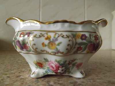 RARE gorgeous Dresden Sprays Hammersley miniature sugar Bone china