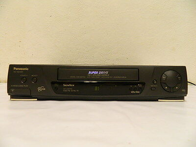 Panasonic Nv-Sd430 Videoregistratore Video Cassette Recorder Vhs #b912
