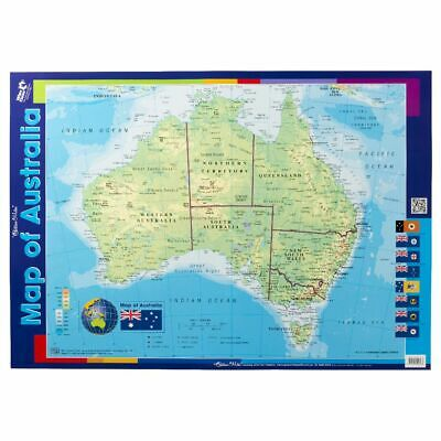 Gillian Miles Map of Australia double-sided Wall Chart