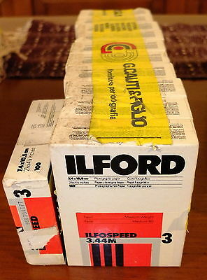ILFORD ILFOSPEED 3.44M  7,4 x 10,5 1100 pz
