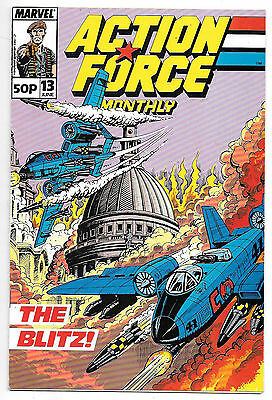 Action Force #13 (Marvel UK 1989 vf) by Mike Collins/Steve Alan & Robin Smith
