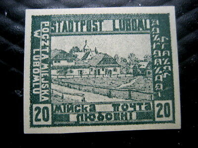 Poland Stamps 1918 LUBOML Local Post Office iss.
