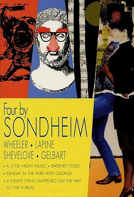 Four by Sondheim Hardcover NEW 000314000