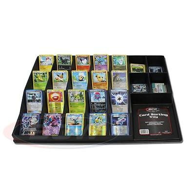 BCW Card Sorting Tray - Organize Pokemon Magic Yu-Gi-Oh Force of Will Cards