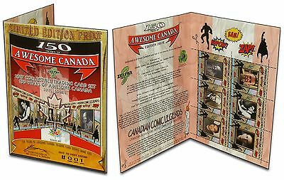 CANADIAN COMIC BOOK LEGENDS (150 Years of Awesome Canada Trading Cards) /150