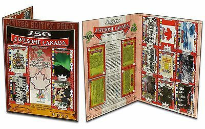 CANADIANA EH (150 Years of Awesome Canada Trading Cards) /150 TRUMP-TRUDEAU CARD