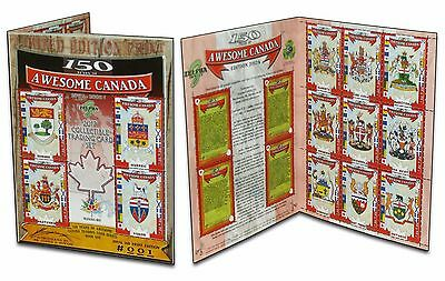 Canada Provinces & Territories (150 Years of Awesome Canada Trading Cards) /150