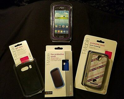 Wholesale Lot T-Mobile Cell Cases - Body Glove - Speck (140 cases)