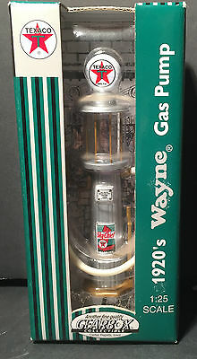Gearbox Collectible 1920's Wayne Gax pump Texaci 1:25 Scale Die Cast NIB