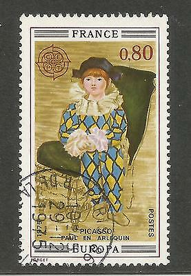 France  Francia 1975  Paul As Harlequin By Picasso . Fine Used. (S1)