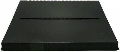 RV Stove Top Cover Black Adds Counter Space Hides Burners Folding Camco