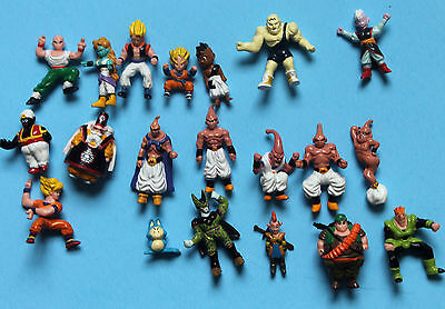 dragon ball z mini action figures lots of RARE action figures, 20 figures