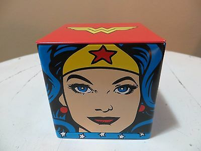 Hallmark Cubeez Tin Container - DC Comics - WONDER WOMAN - DISCONTINUED