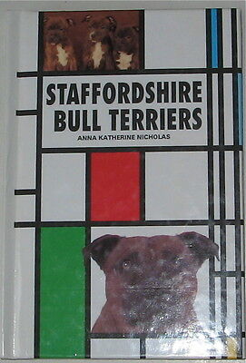 Vintage Staffordshire Bull Terrier Breed Book