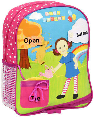Play School Jemima Activity Backpack Pink PS17