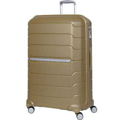 Samsonite Octolite Extra Large 81cm Hardside Suitcase Metallic Gold 78793