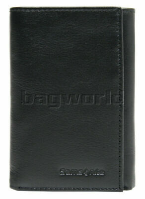 Samsonite RFID Blocking Leather Trifold Wallet Black 50901