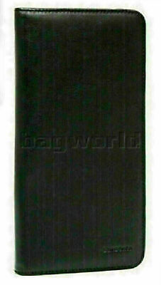 Samsonite RFID Blocking Leather Executive Travel Wallet Black 59759