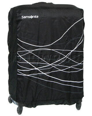 Samsonite Travel Accessories Foldable Luggage Cover Large Black 57549