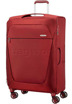Samsonite B'Lite 3 SPL Large 78cm Softside Suitcase Chilli Red 68225