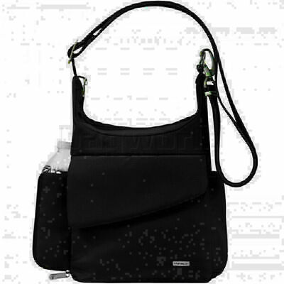 Travelon Classic RFID Blocking Anti-Theft Messenger Bag Black 42242