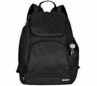 Travelon Classic RFID Blocking Anti-Theft Tablet Backpack Black 42310