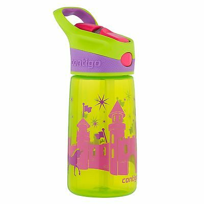 Contigo Kids Striker Fairytale Autospout BPA FREE Water Drink Bottle Leak Proof