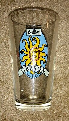 "BELL'S Oberon Ale ""Summer 2009"", Pint (16oz) Beer Glass."