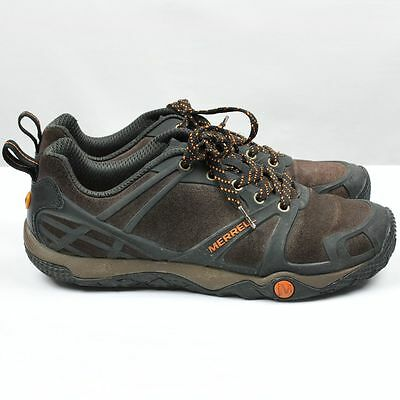 Merrell Mens Shoes Size 9 Outdoor Hiking Low Espresso