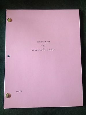 Once Upon A Time ABC STOCK COVER Pilot Script Episode & OUAT Frozen TV Guide