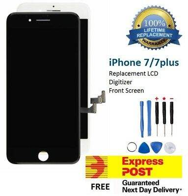 for iPhone 7 7 Plus Black White LCD Touch Screen Replacement Digitizer Assembly