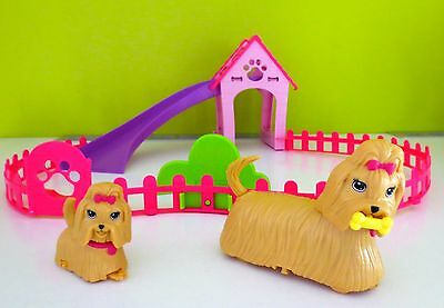 Barbie Puppy Play Park With  Two Dogs Battery Operated Play set