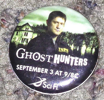Ghost Hunters Pin from Comic Con